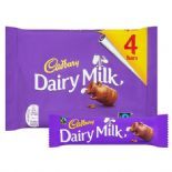 Cadbury Dairy Milk Chocolate Bar x 4 Pack 144g